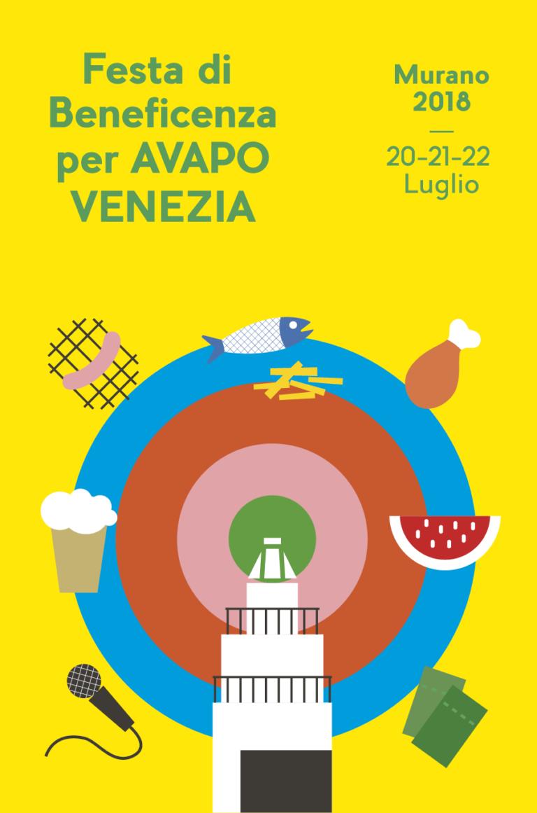 Festa di Beneficenza Murano — Visual identity