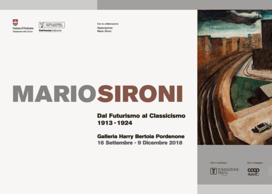 Mostra Mario SIroni Pordenone Grafica Nicoletta De Bellis Artemia