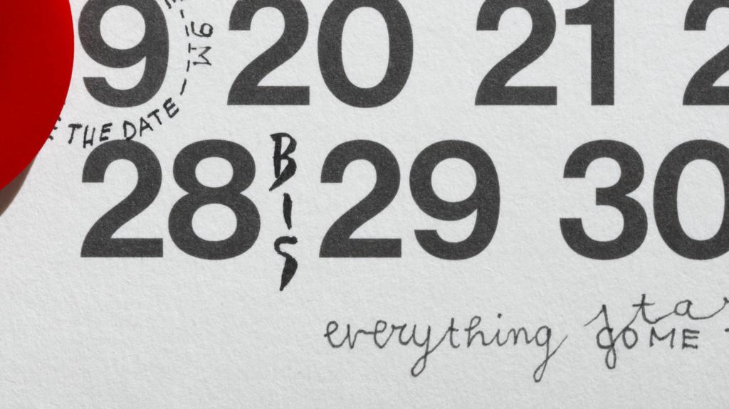 Calendario Perpetuo! Tattoo di Artemia Tommaso Gentile e Laura Doro