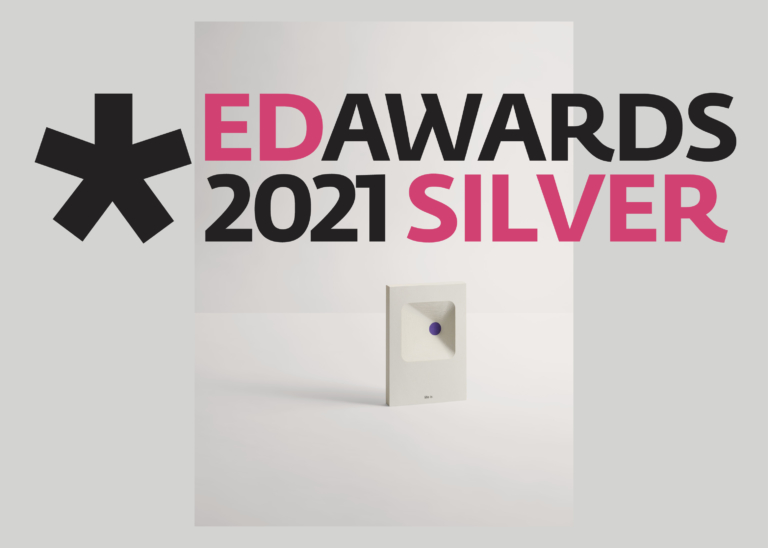 Silver Award at European Design Awards 2021 with the packaging design project Nanetto!