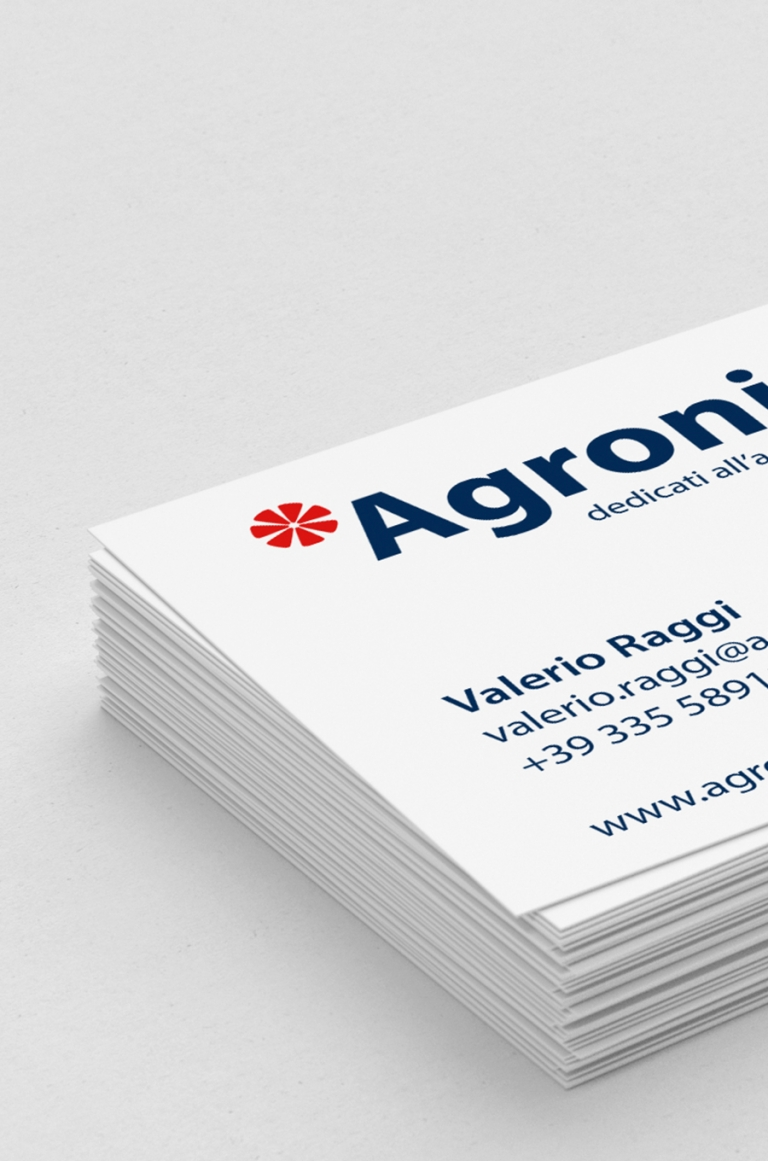 Redesign marchi Agronica Group — Brand identity