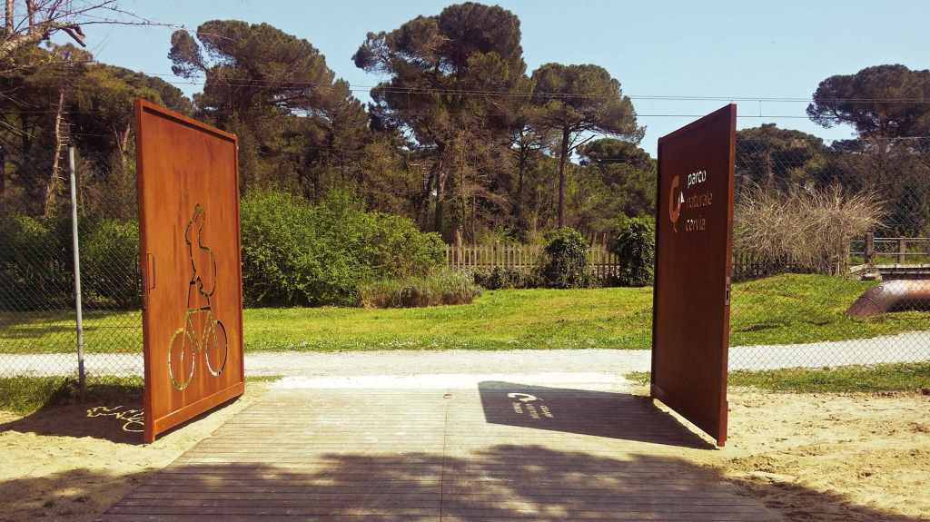 segnaletica parco naturale cervia