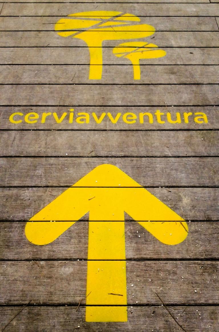 Parco Naturale di Cervia — Segnaletica