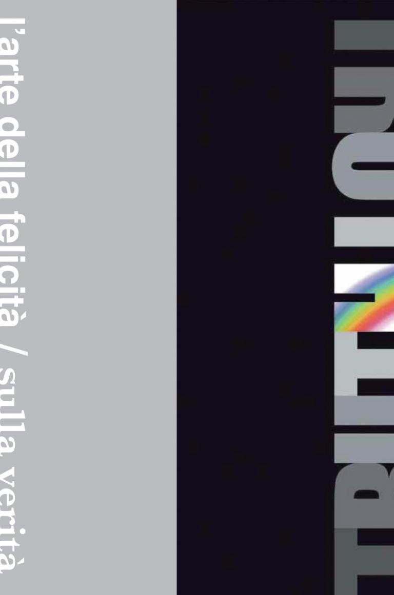 Un poster per La Verità — Grafica editoriale