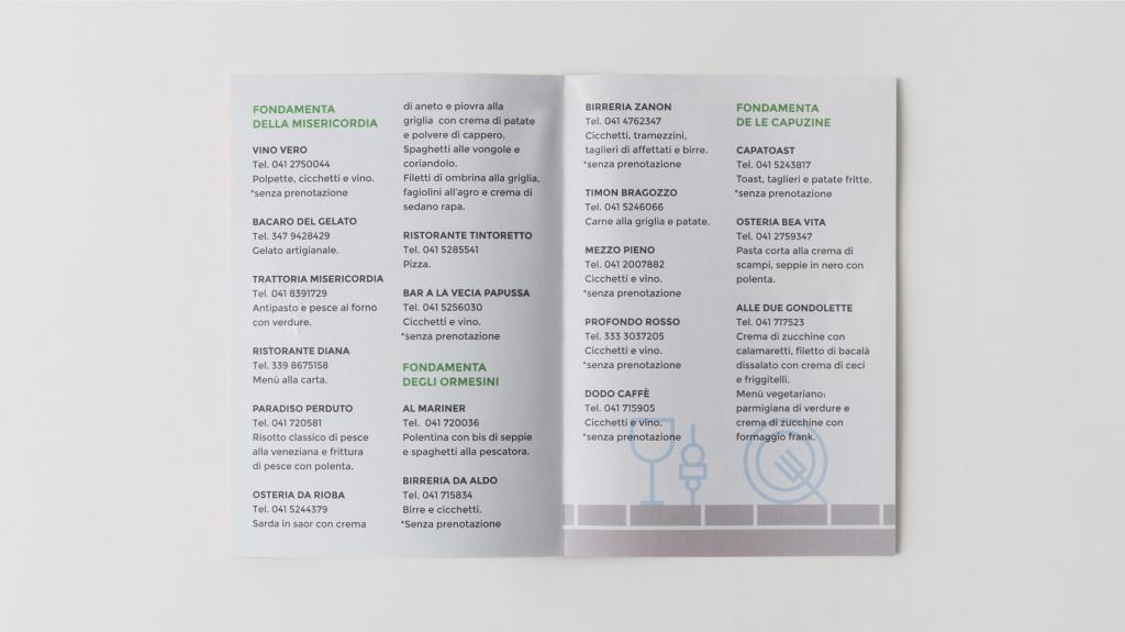 visual identity food raising la fondamenta bianca 2017 AVAPO VENEZIA Artemia Group