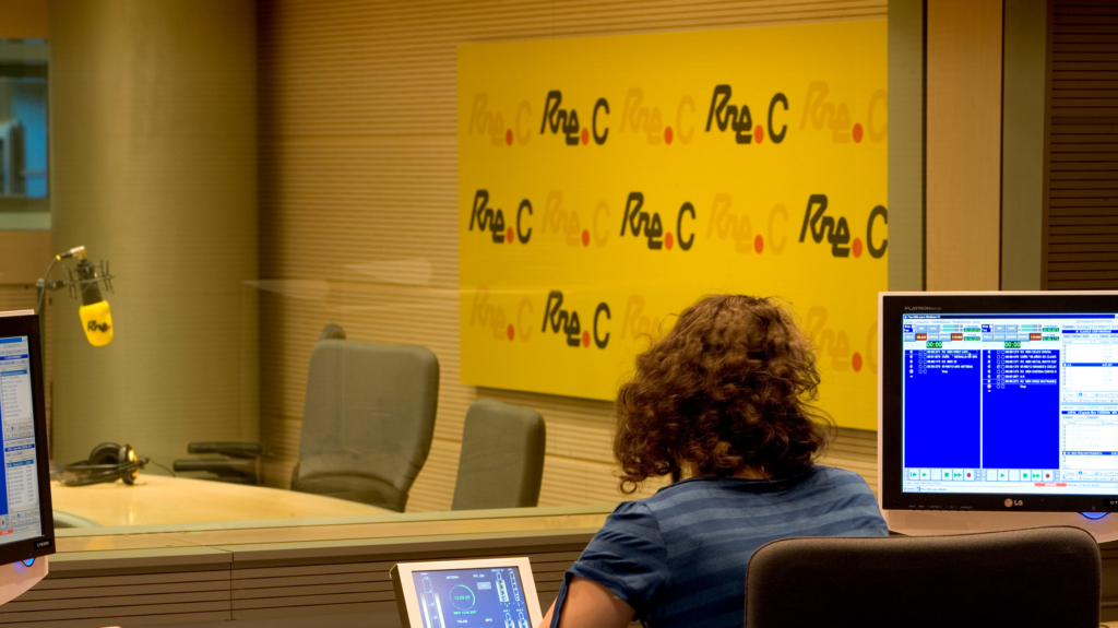 Segnaletica Studi Radio Nacional di Spagna di Artemia Group