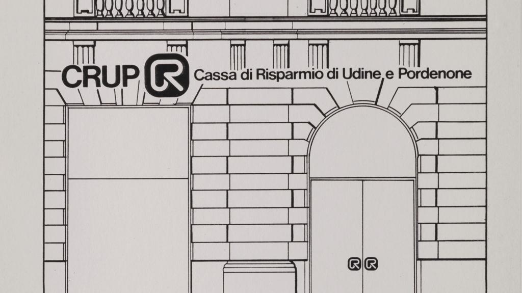 brand identity Cassa di Risparmio di Udine CRUP disegnato da studio grafico Artemia Group
