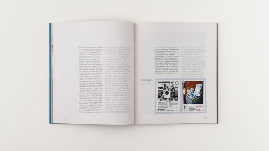 grafica editoriale mostra electrolux la fabbrica del bianco
