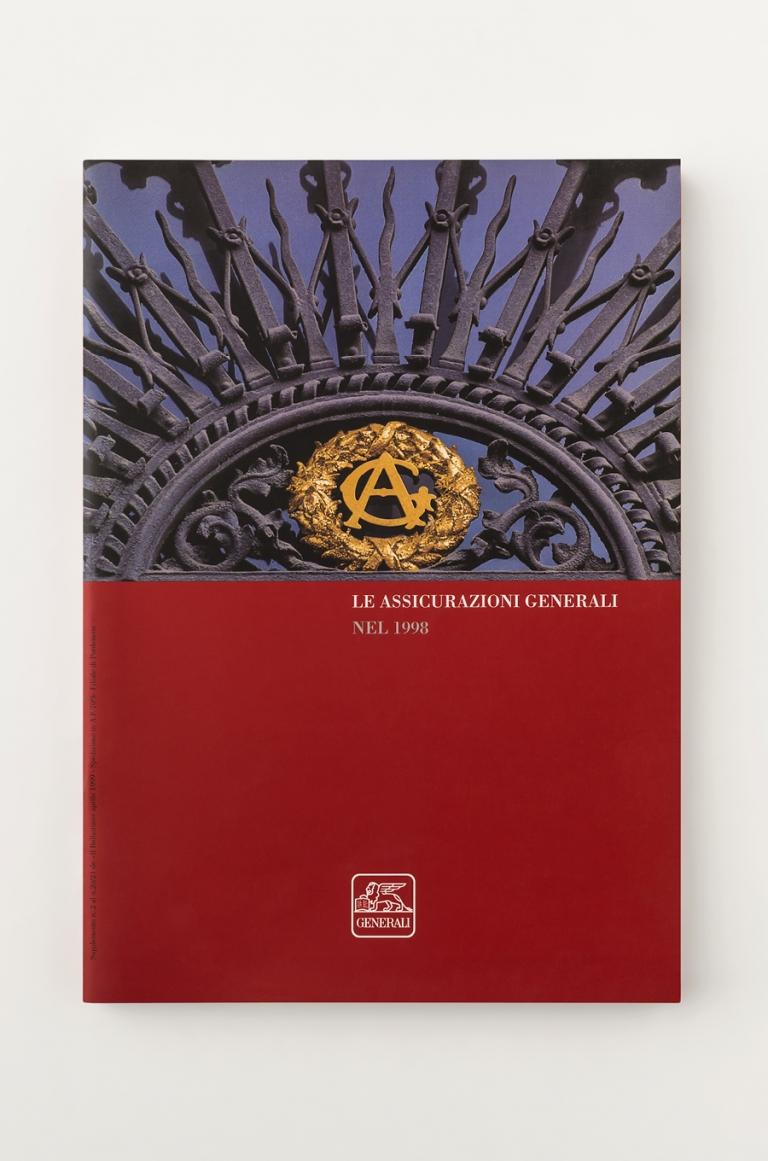 Assicurazioni Generali — Grafica editoriale