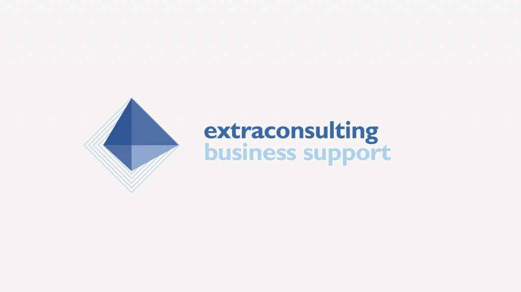 visual identity di Extraconsulting business support design studio grafico Artemia Group