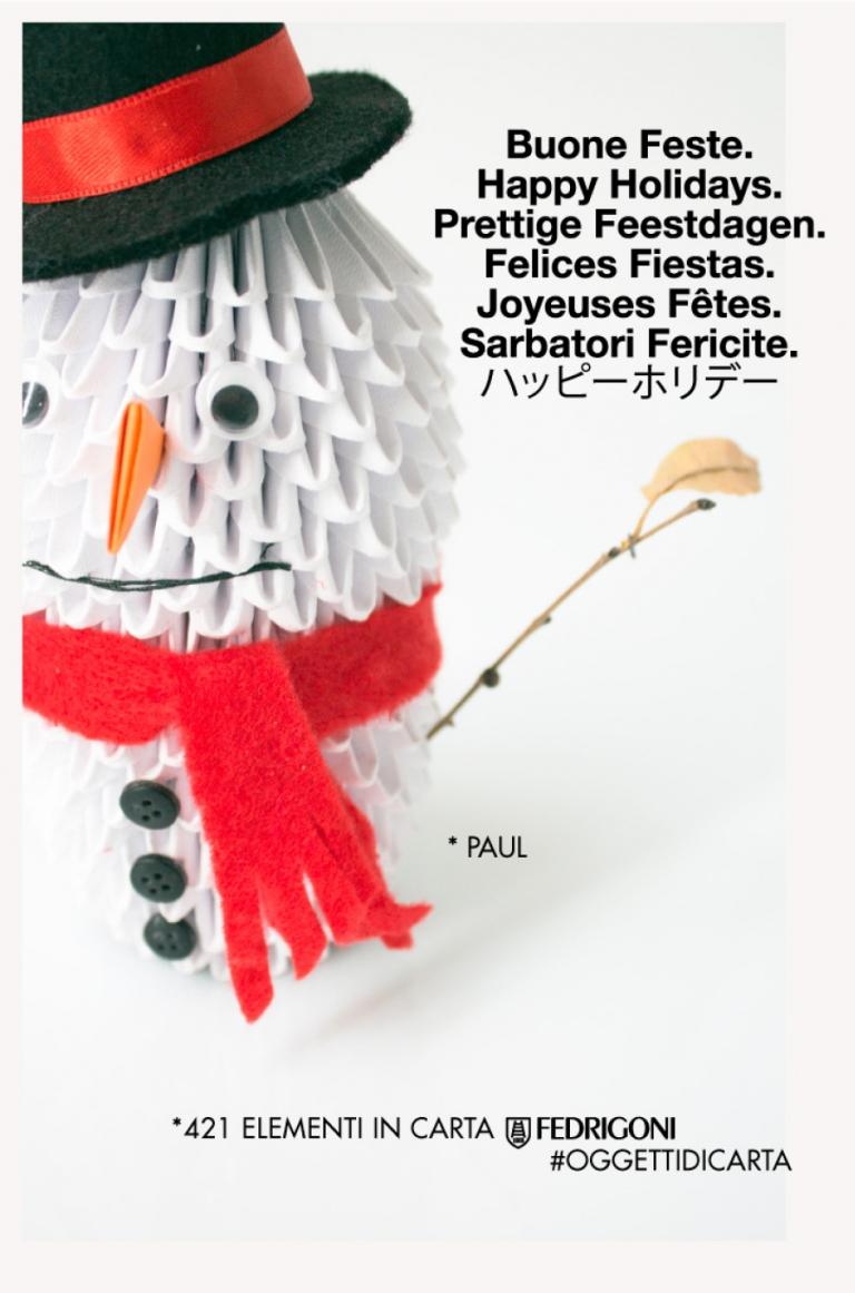 Auguri di Natale 2014 — Paul origami