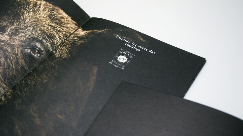 Toscano Grill progetto di brand identity disegnato da Tommaso Gentile