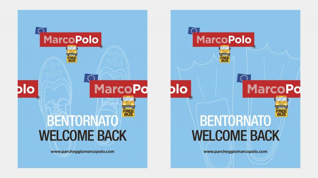 tappetini auto Parcheggio MarcoPolo brand identity Artemia Group