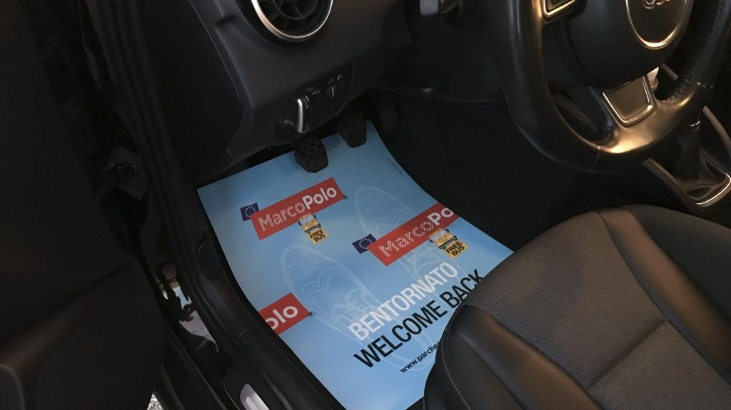 tappetini auto parcheggio MarcoPolo