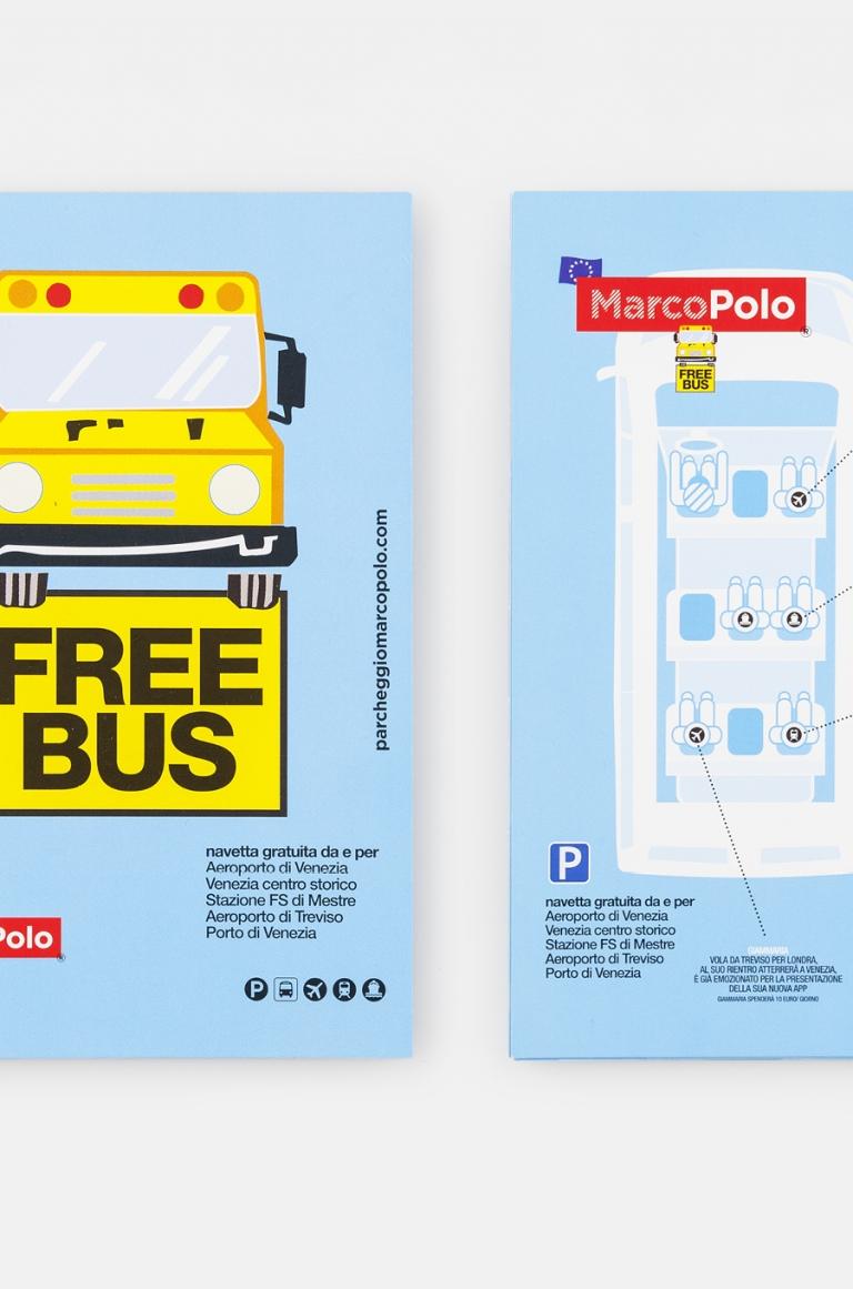 Parcheggio MarcoPolo — Brand identity
