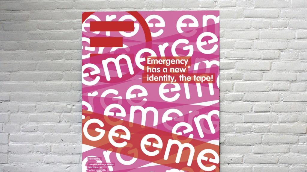 brand Identity di Emergency vincitrice del Lucky Strike J Designer Award