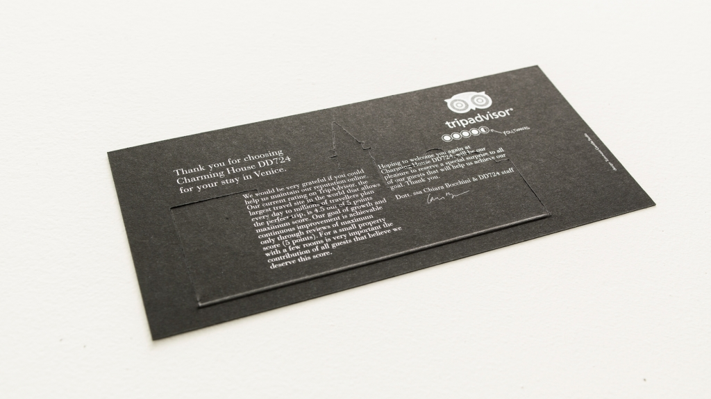 the charming house hotel check out card