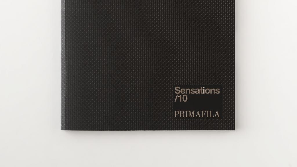 grafica editoriale copertina catalogo divani Primafila