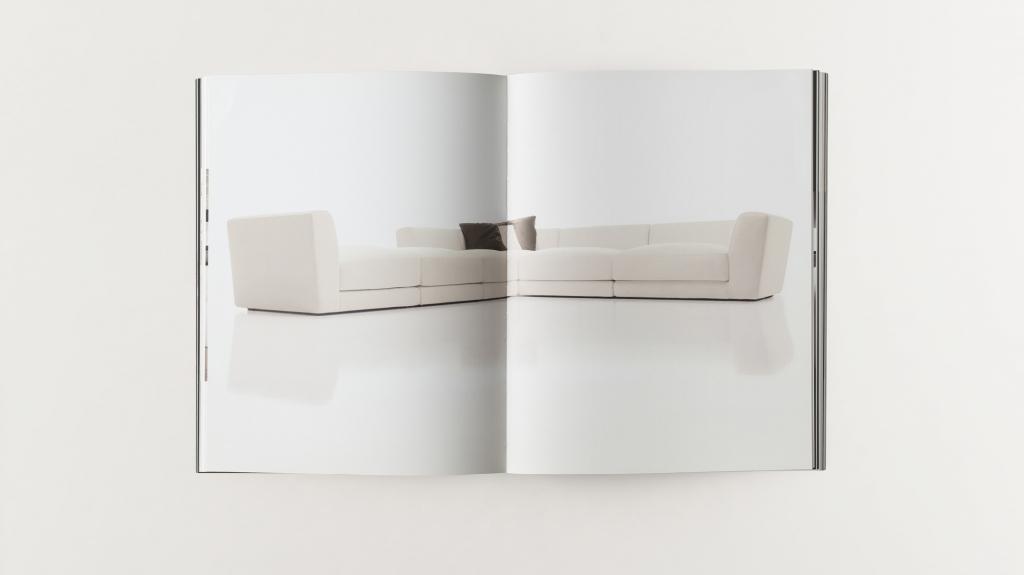 grafica editoriale catalogo divani Primafila